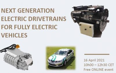 Joint GV04 workshop – Next generation electric drivetrains for fully electric vehicles