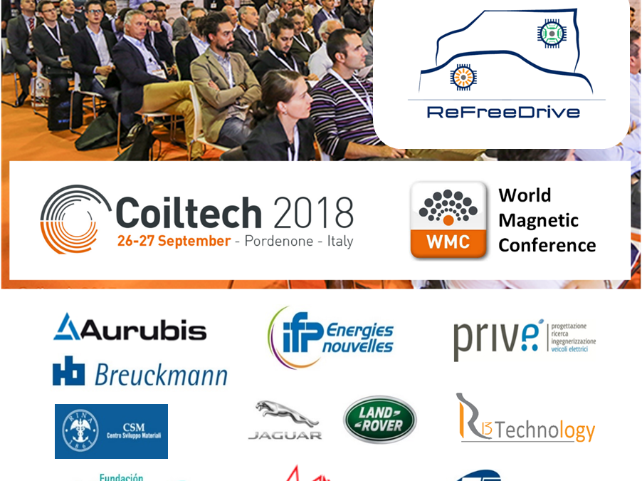 ReFreeDrive Dissemination session @ Coiltech 2018